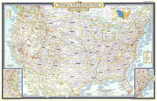 Historical Map of the United States