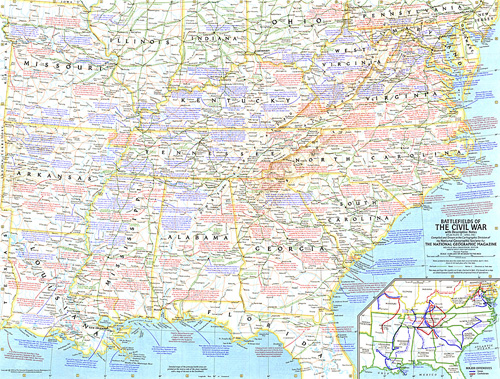 Battlefields of the civil war map zoom gumiabroncs Choice Image