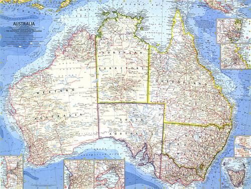 Australia Map Zoom.Australia Map