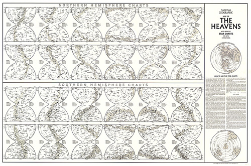 Heavens Star Chart