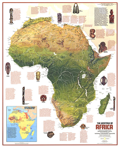 Heritage of Africa Map