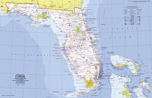 Picture Of Florida Map.Close Up Usa Florida Map