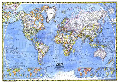 Polictical World Map.Political World Map