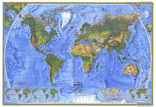 home physical world map zoom