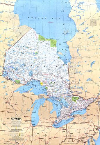 Ontario Canada Map - Map of ontario canada