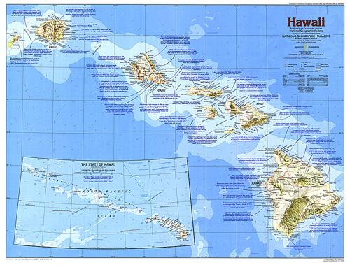 Hawaii Map - Hawaii on world map