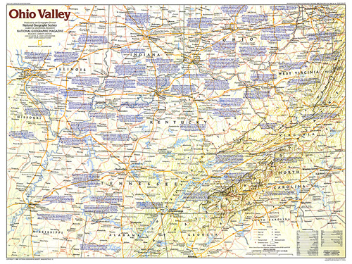 Ohio Valley Map - Map ohio