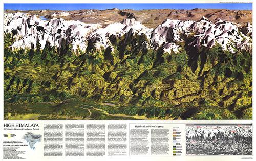 High Himalaya Map