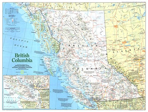 Map Of Canada British Columbia.Making Of Canada British Columbia Map