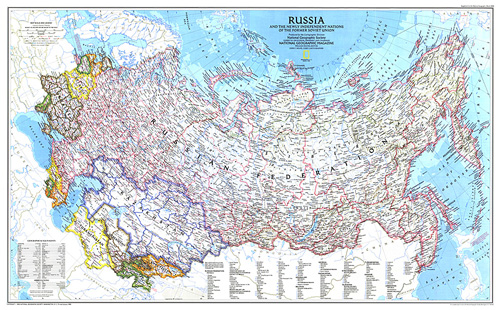 Russia and the Newly Independent Nations of the Former Soviet Union