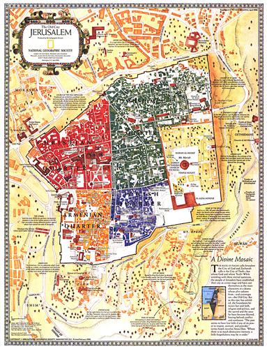 Jerusalem Map Pdf