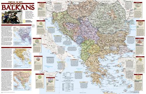 Balkans Conflict Map