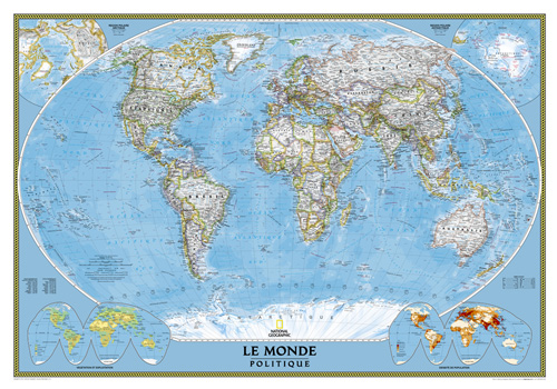 World French Map