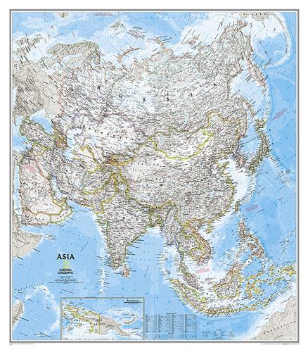 Asia Classic [Laminated]