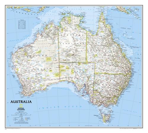 Australia Classic [Laminated]