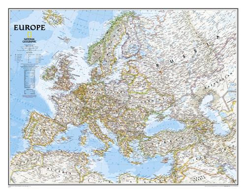 Europe Classic [Laminated]