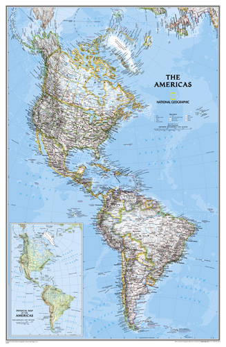 The Americas Classic [Laminated]