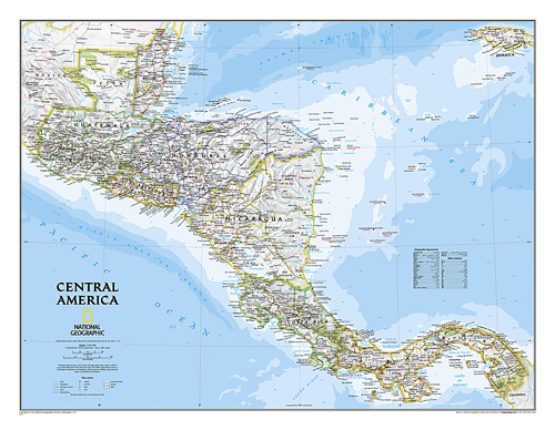 Central America Classic [Laminated]