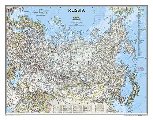 Russia Classic [Laminated]