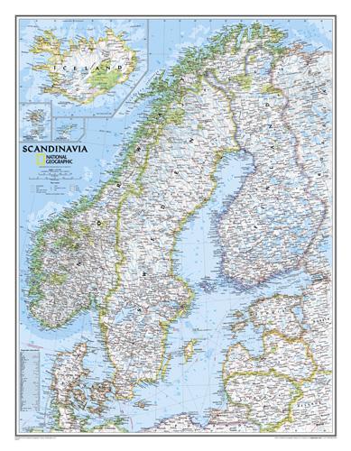 Scandinavia Classic [Laminated]