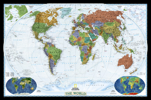 World Decorator [Laminated]