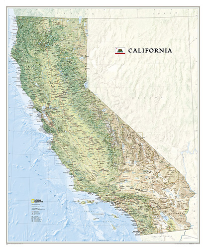 California [Laminated]