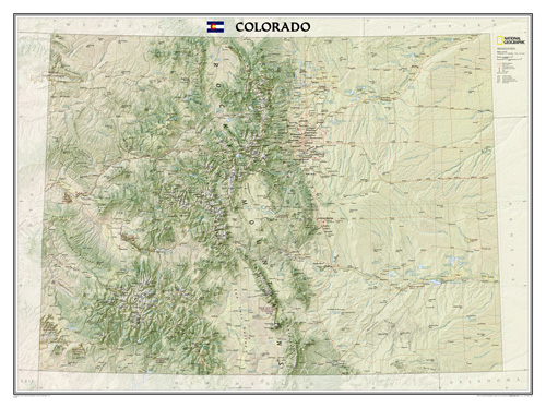 Colorado [Laminated]