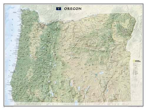Oregon [Laminated]