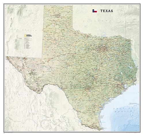 Texas [Laminated]