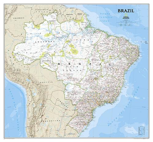 Brazil Classic [Laminated]