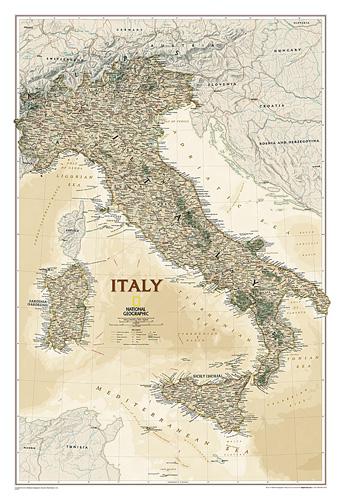 Italy Executive [Laminated]