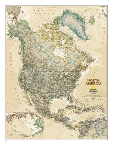 North America Executive [Laminated]