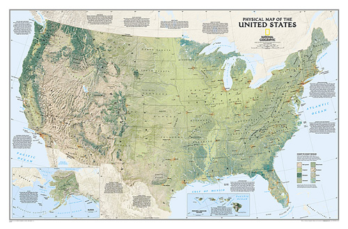United States Physical [Laminated]