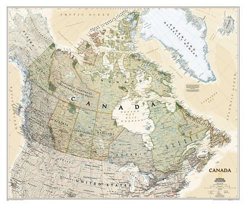 Canada Executive [Laminated]
