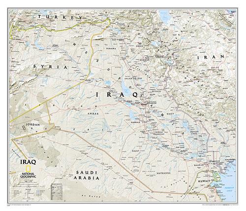 Iraq Classic [Laminated]