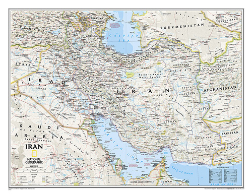 Iran Classic [Laminated]