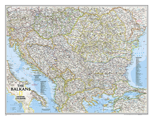 The Balkans Classic [Laminated]