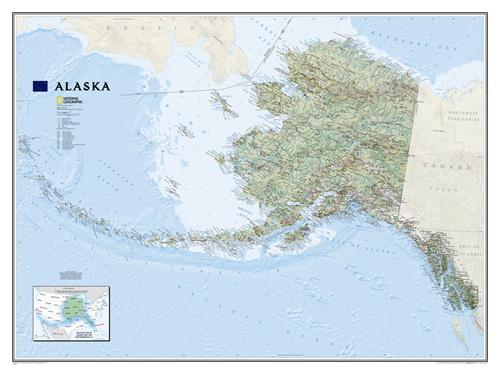 Alaska [Laminated]