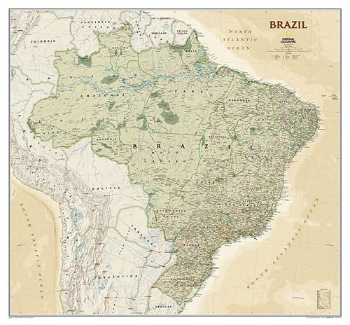 Brazil Executive [Laminated]