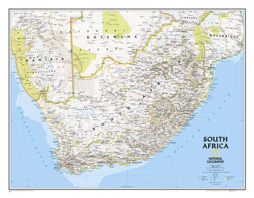 South Africa Classic [Laminated]