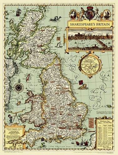 Shakespeare's Britain [Tubed]