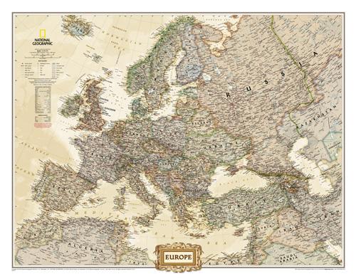 Europe Executive [Tubed]