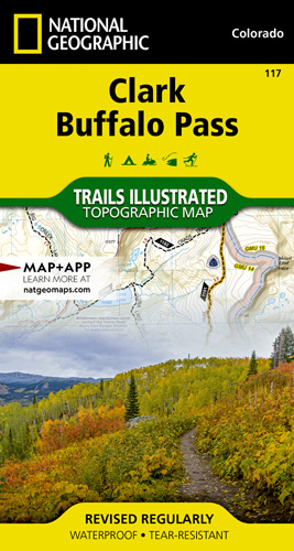 Clark, Buffalo Pass trail map