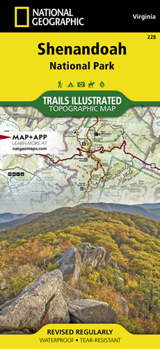 Shenandoah national park trail map for Shenandoah national park fishing