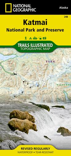 Katmai National Park and Preserve trail map