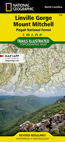 Pisgah Forest Nc Map.Linville Gorge Mount Mitchell Pisgah National Forest