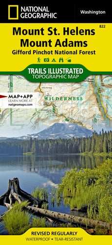 Mount St. Helens, Mount Adams [Gifford Pinchot National Forest]