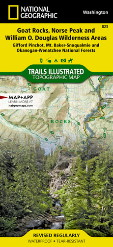 Goat Rocks, Norse Peak and William O. Douglas Wilderness Areas [Gifford Pinchot, Mt. Baker-Snoqualmie, and Okanogan-Wenatchee National Forests]