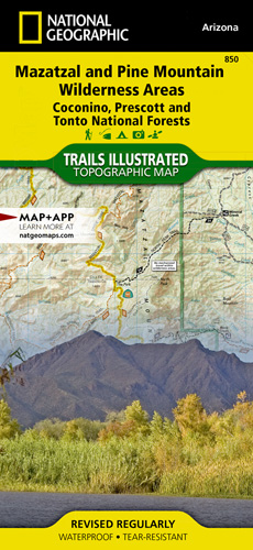 Mazatzal and Pine Mountain Wilderness Areas [Coconino, Prescott, and Tonto National Forests]