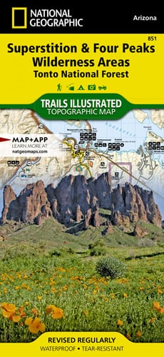 Superstition and Four Peaks Wilderness Areas [Tonto National Forest]